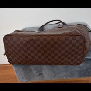 BROWN NEVERFULL LV BAG MM